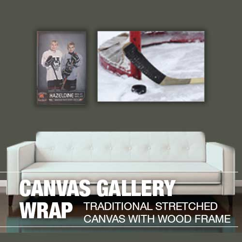 Colorado Textile Canvas Gallery Wrap