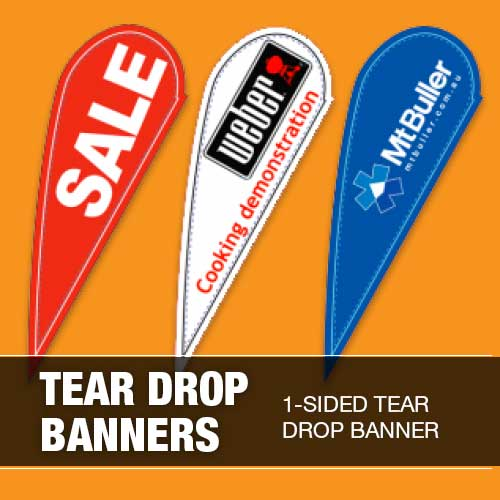 Colorado Textile Tear Banners