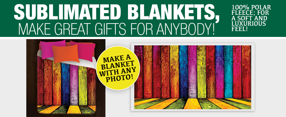 Sublimated Blankets