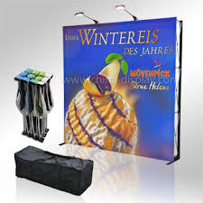 Pop up Fabric Display Colorado Textile Banners